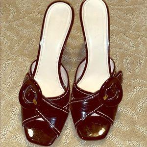 Black wedge heel, PRADA